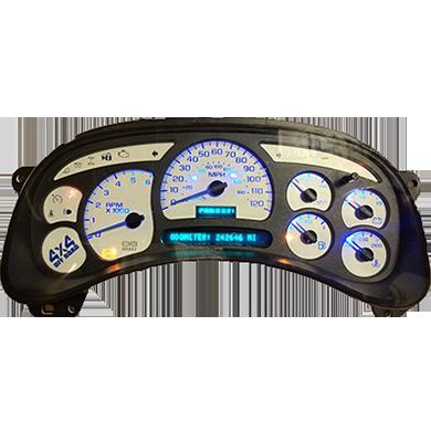 2003 chevy silverado instrument cluster upgrade